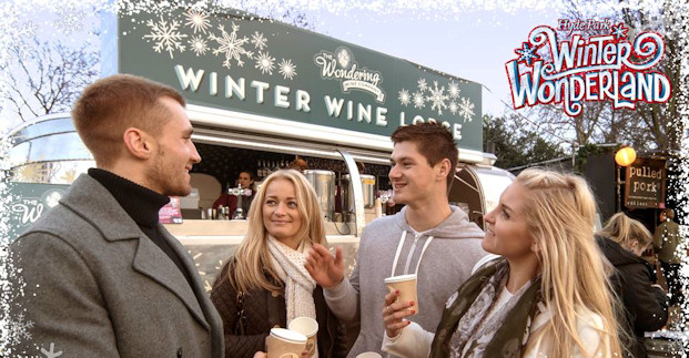 wondering wine company at winter wonderland 2015